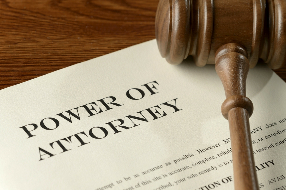 The Need for Power of Attorney